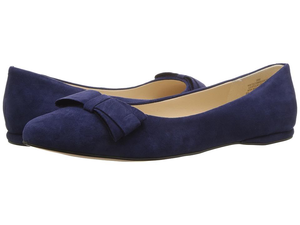Nine West - Schmakaroo (Blue Suede) Women's Shoes