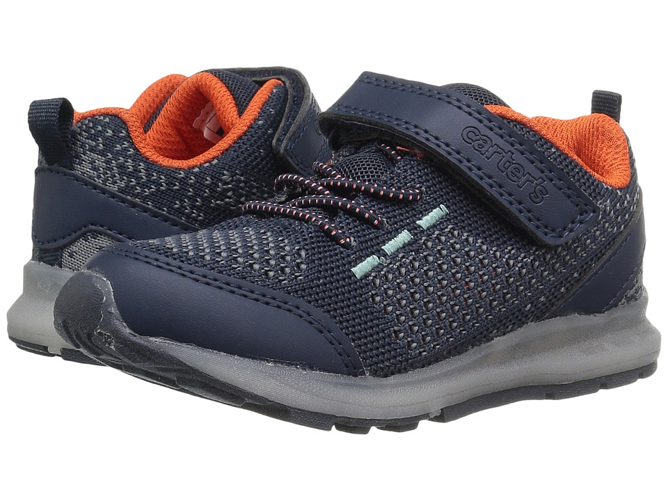 Carters - Tracker 2 (Toddler/Little Kid) (Navy) Boy's Shoes