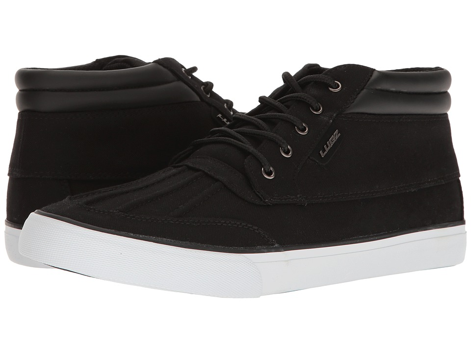 Lugz - Boomer (Black/White) Men's Shoes