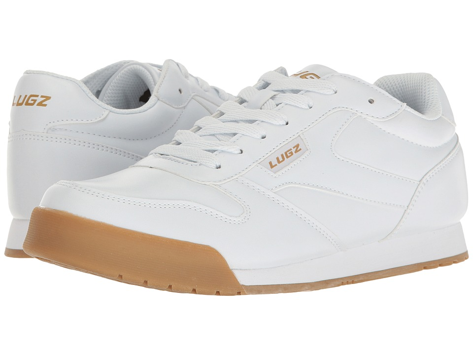 Lugz - Matchpoint (White/Gum) Men's Shoes