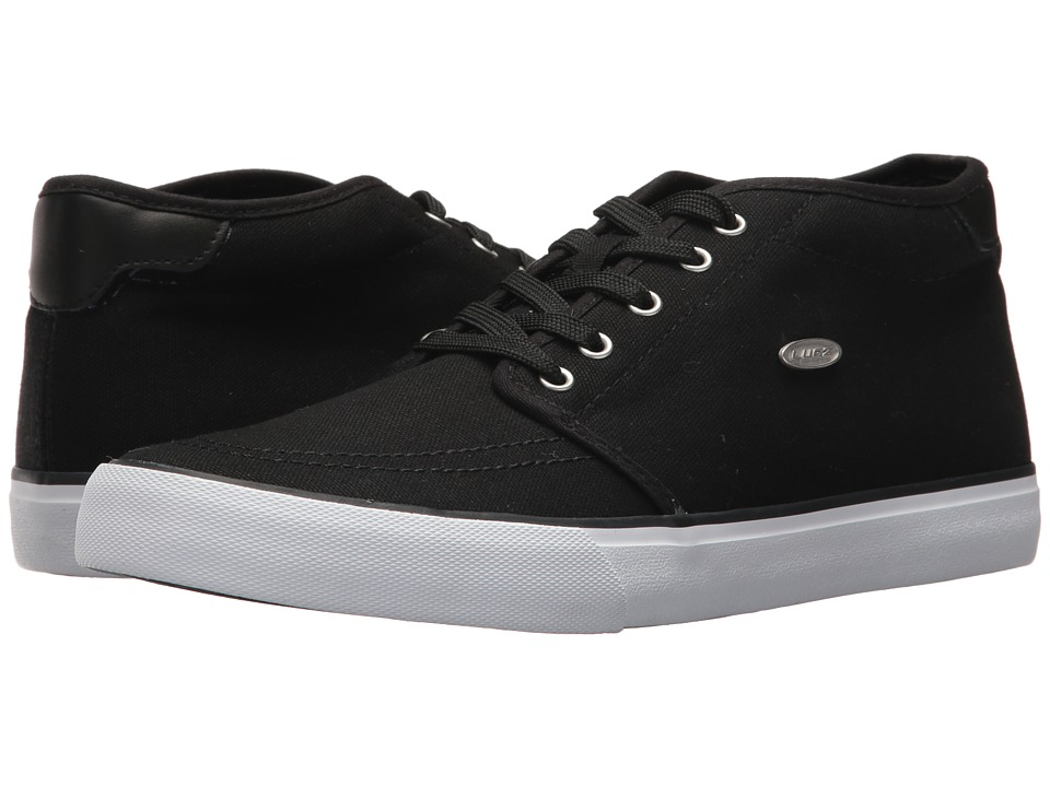Lugz - Rivington Mid (Black/White) Men's Shoes