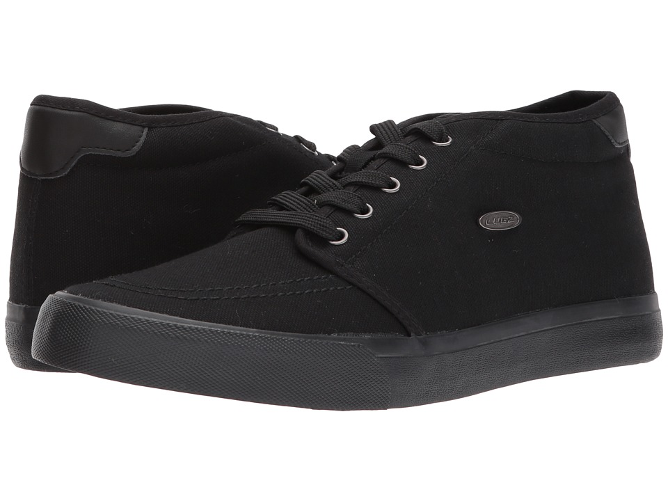Lugz - Rivington Mid (Black/Black) Men's Shoes