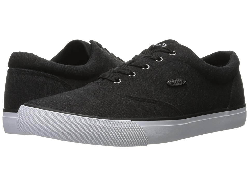 Lugz - Seabrook (Black/White) Men's Shoes