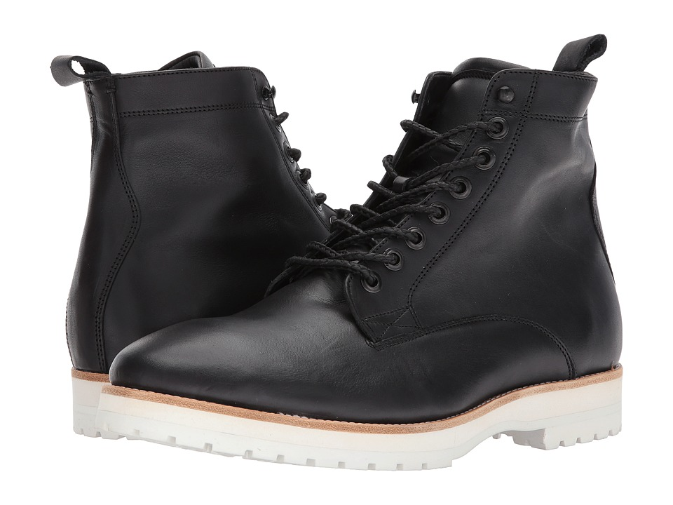 Steve Madden Andre GQ + Steve Madden (Black) Men's Pull-on Boots