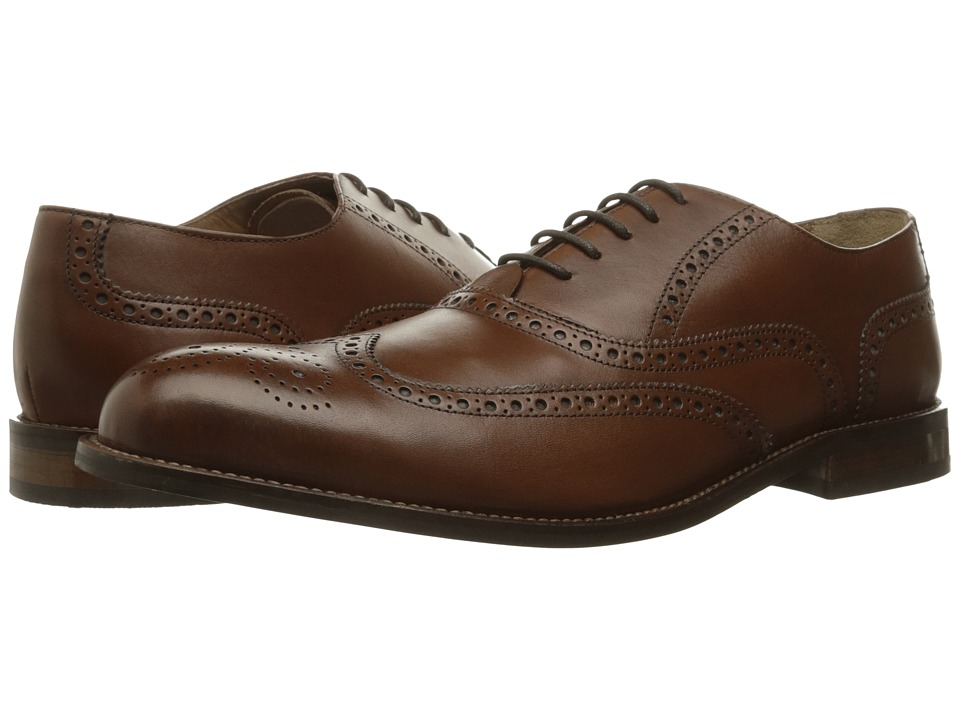 Florsheim - Pascal Wing Tip Oxford (Saddle Tan) Men's Shoes