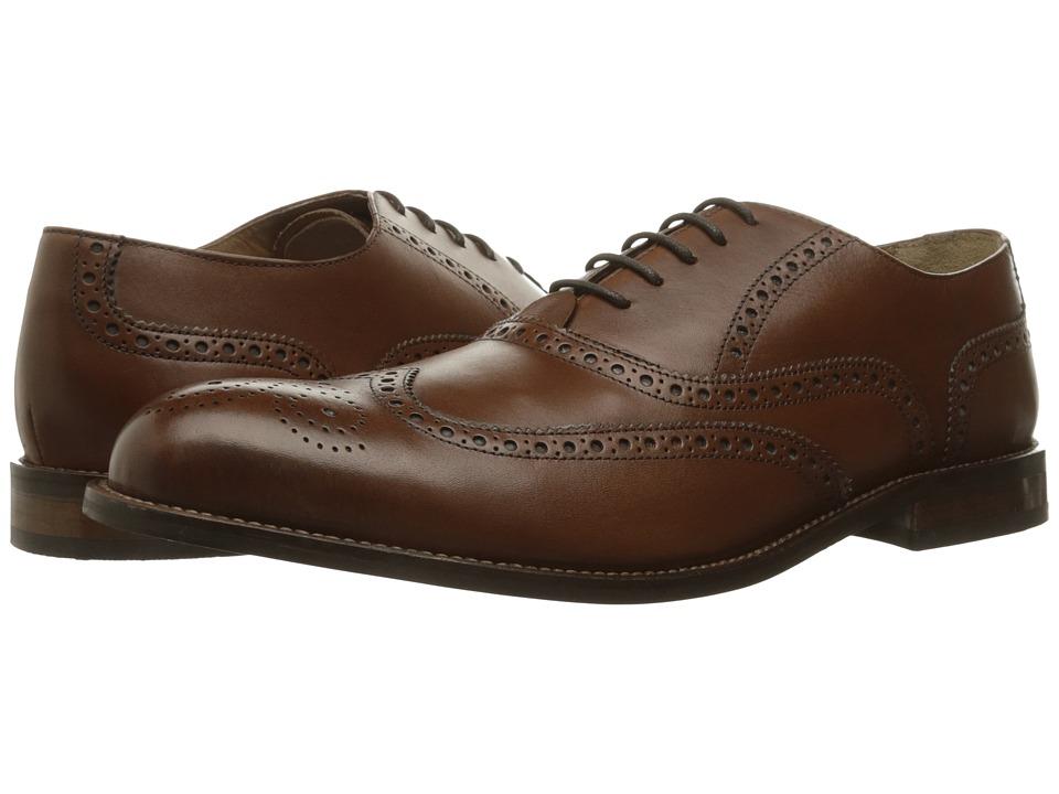Florsheim - Pascal Wing Tip Oxford (Saddle Tan) Men's Shoes