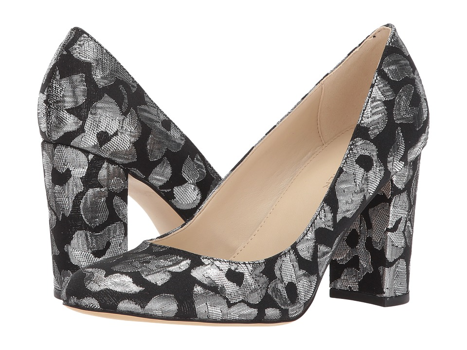 Marc Fisher - Isabelle 4 (Black/Silver) Women's 1-2 inch heel Shoes