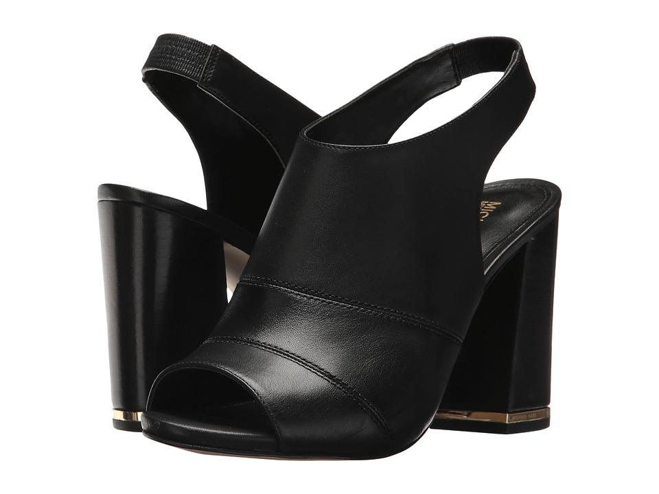MICHAEL Michael Kors - Anise Open Toe (Black) Women's Sling Back Shoes