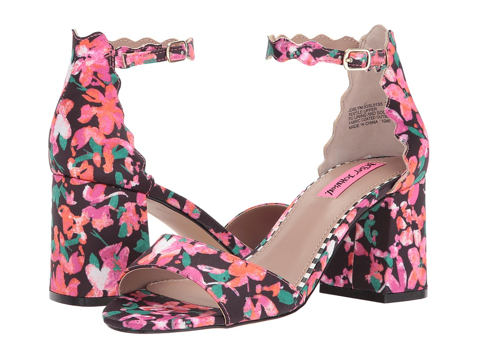 Betsey Johnson Joslyn (Floral Multi) High Heels