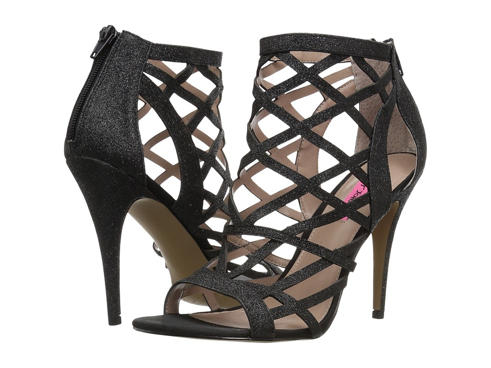 Betsey Johnson - Juliette (Black) High Heels