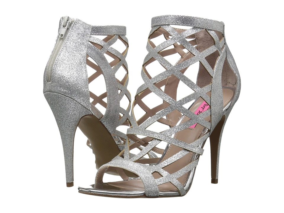 Betsey Johnson Juliette (Silver) High Heels