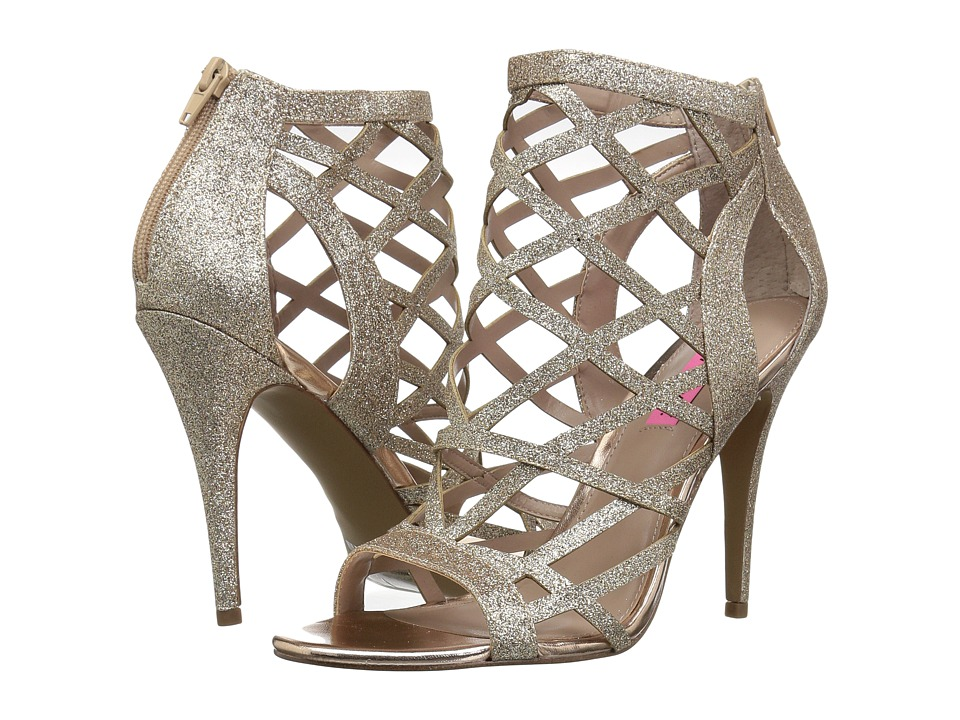 Betsey Johnson Juliette (Champagne) High Heels