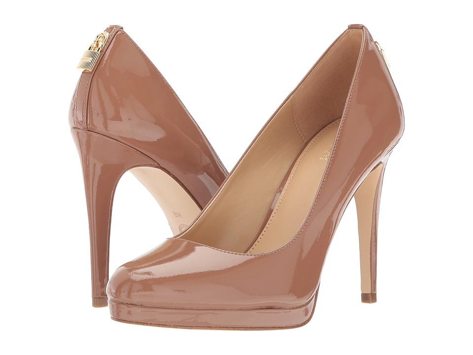 MICHAEL Michael Kors - Antoinette Pump (Almond) High Heels