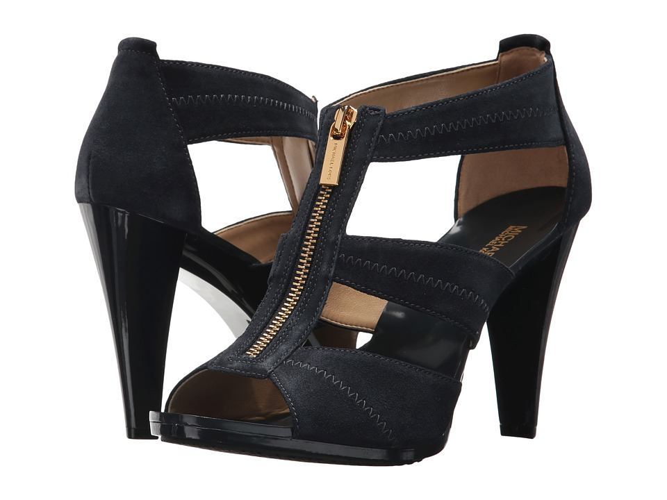 MICHAEL Michael Kors Berkley T-Strap (Light Admiral) High Heels