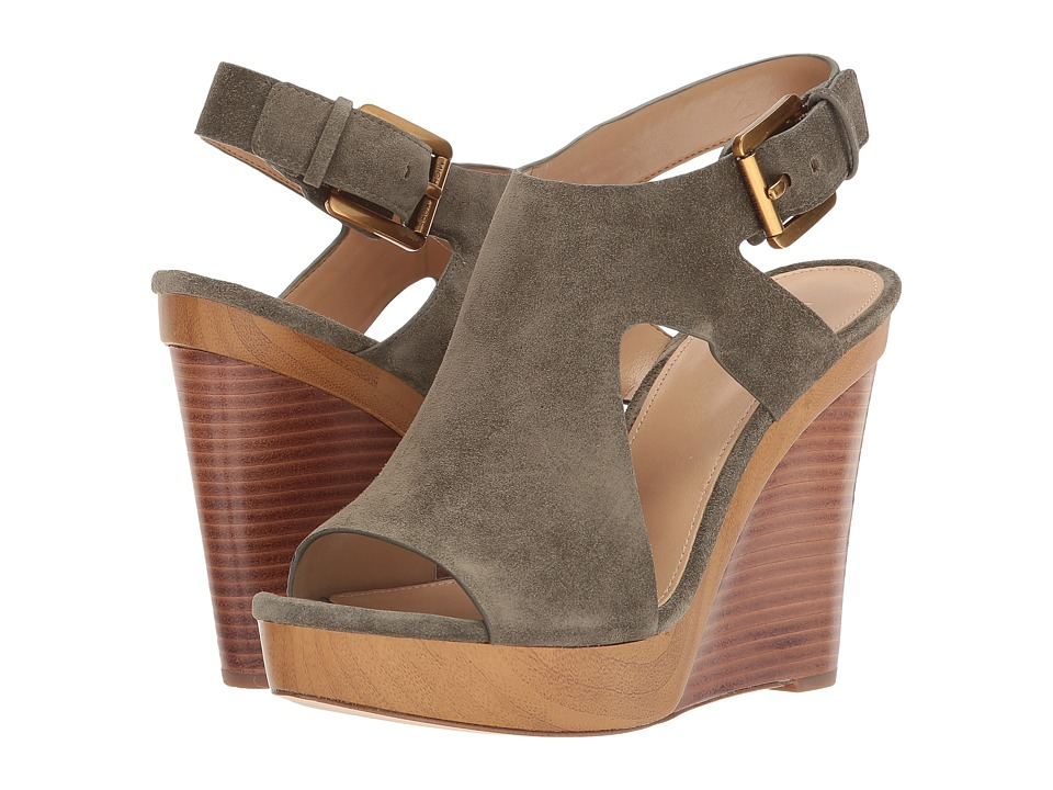 MICHAEL Michael Kors - Josephine Wedge (Olive) Women's Shoes