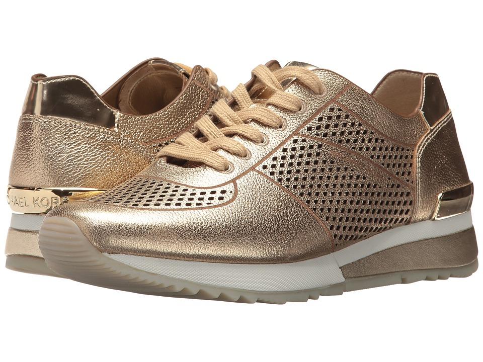 MICHAEL Michael Kors - Tilda Trainer (Pale Gold) Women's Shoes