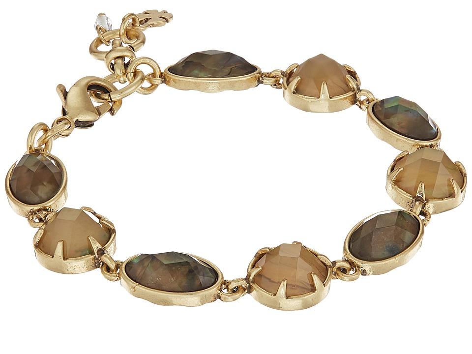 Lucky Brand - Abalone Link Bracelet (Gold) Bracelet