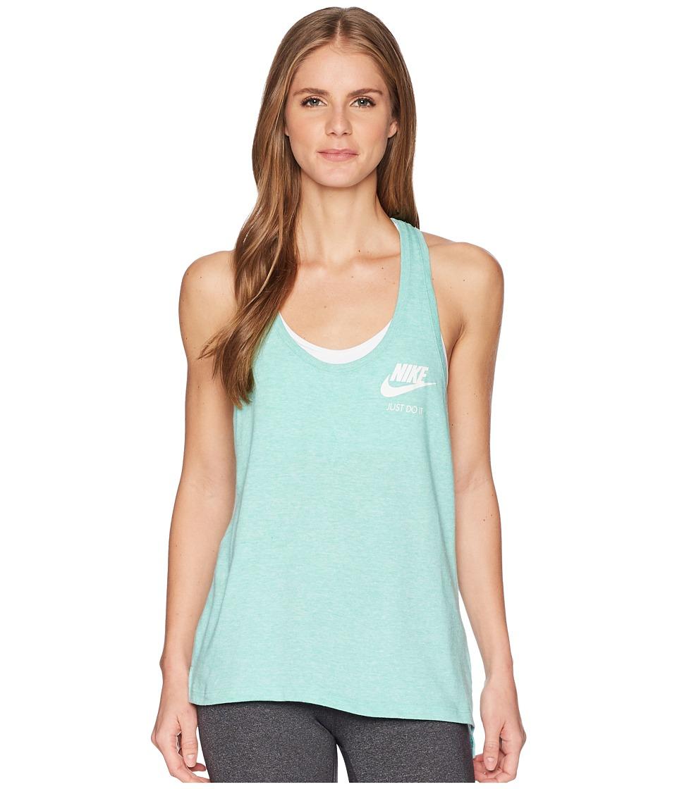 Nike Sportswear Gym Vintage Tank (Emerald Rise/Sail) Women