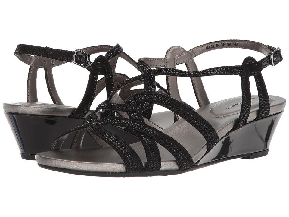 Bandolino Galtelli (Black Twinkle Fabric) Women