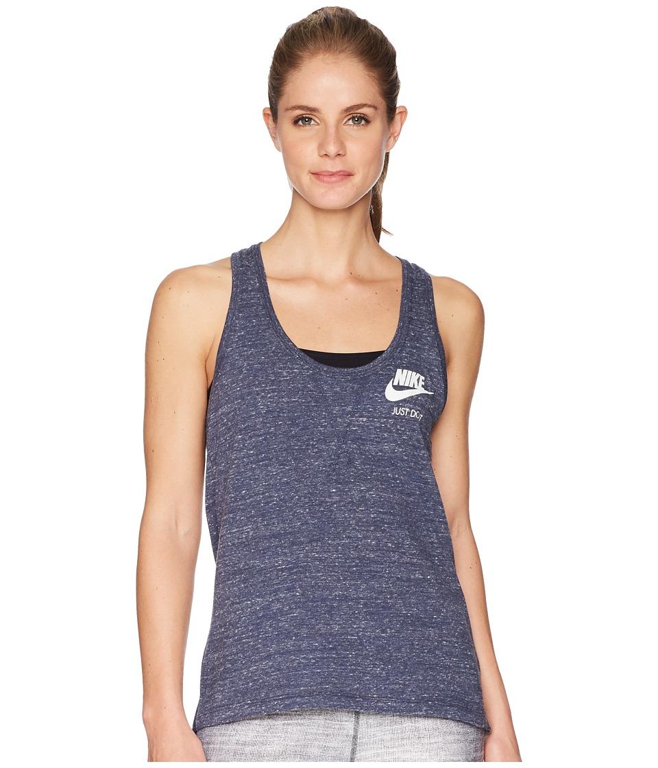 Nike Sportswear Gym Vintage Tank (Thunder Blue/Sail) Women
