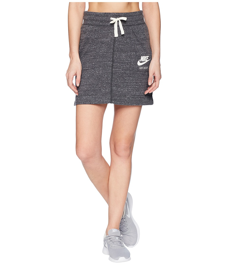 Nike Sportswear Gym Vintage Skirt (Anthracite/Sail) Women