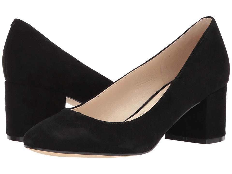 Marc Fisher LTD - Westin (Black Suede) Women's Shoes