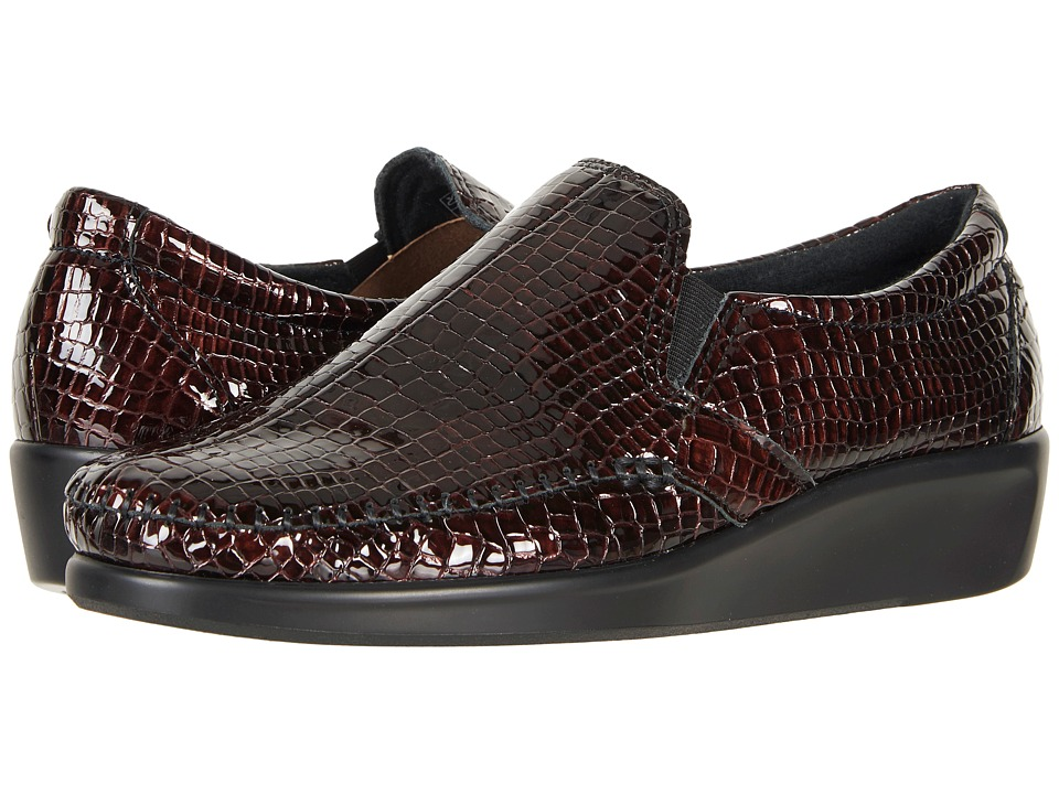 SAS Dream (Brown Croc) Women's Shoes