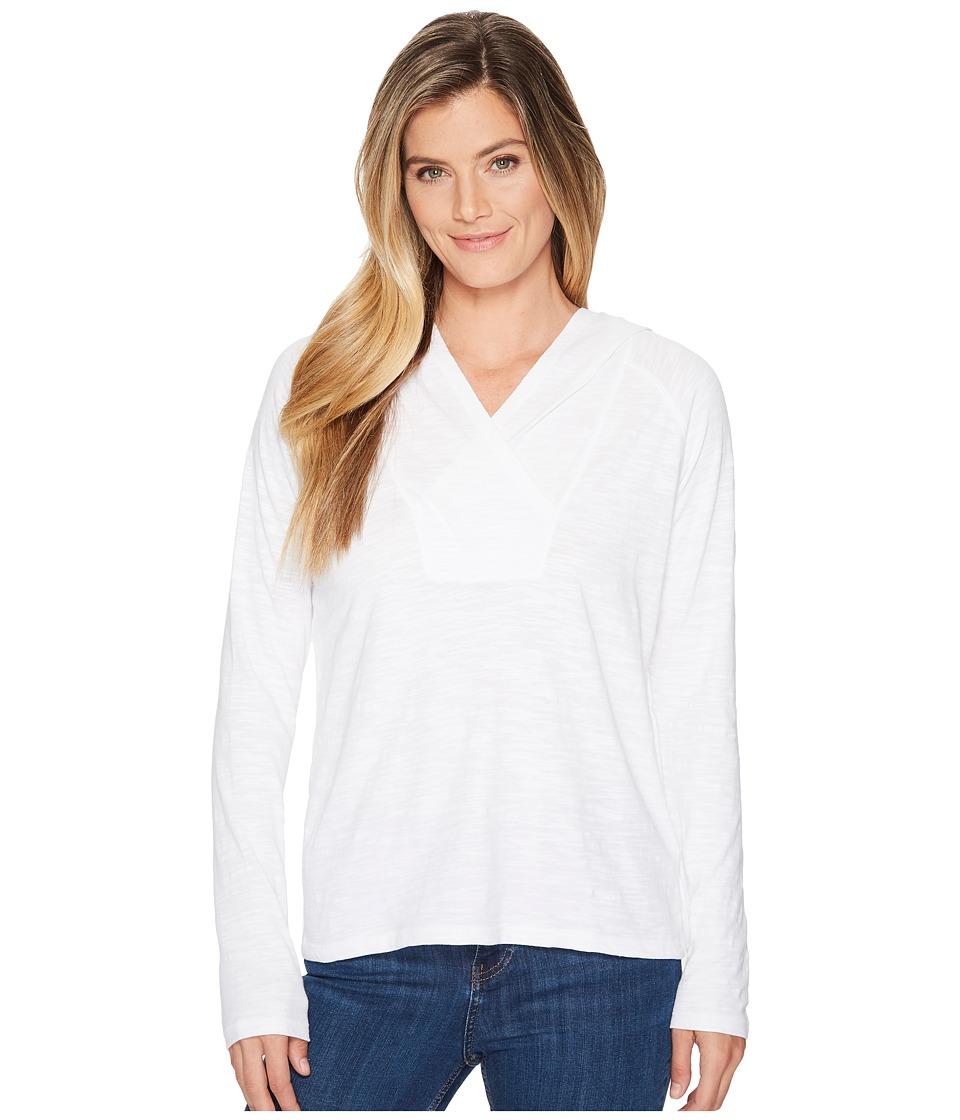 Lilla P Long Sleeve Hoodie (White) Women