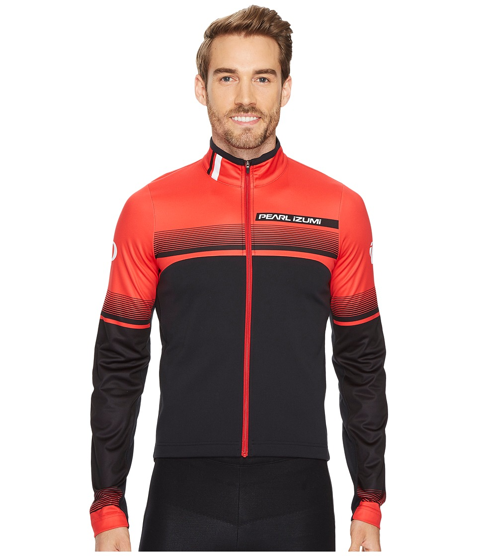Pearl Izumi - Select Thermal Limited Jersey (Splitz True Red) Men's Clothing