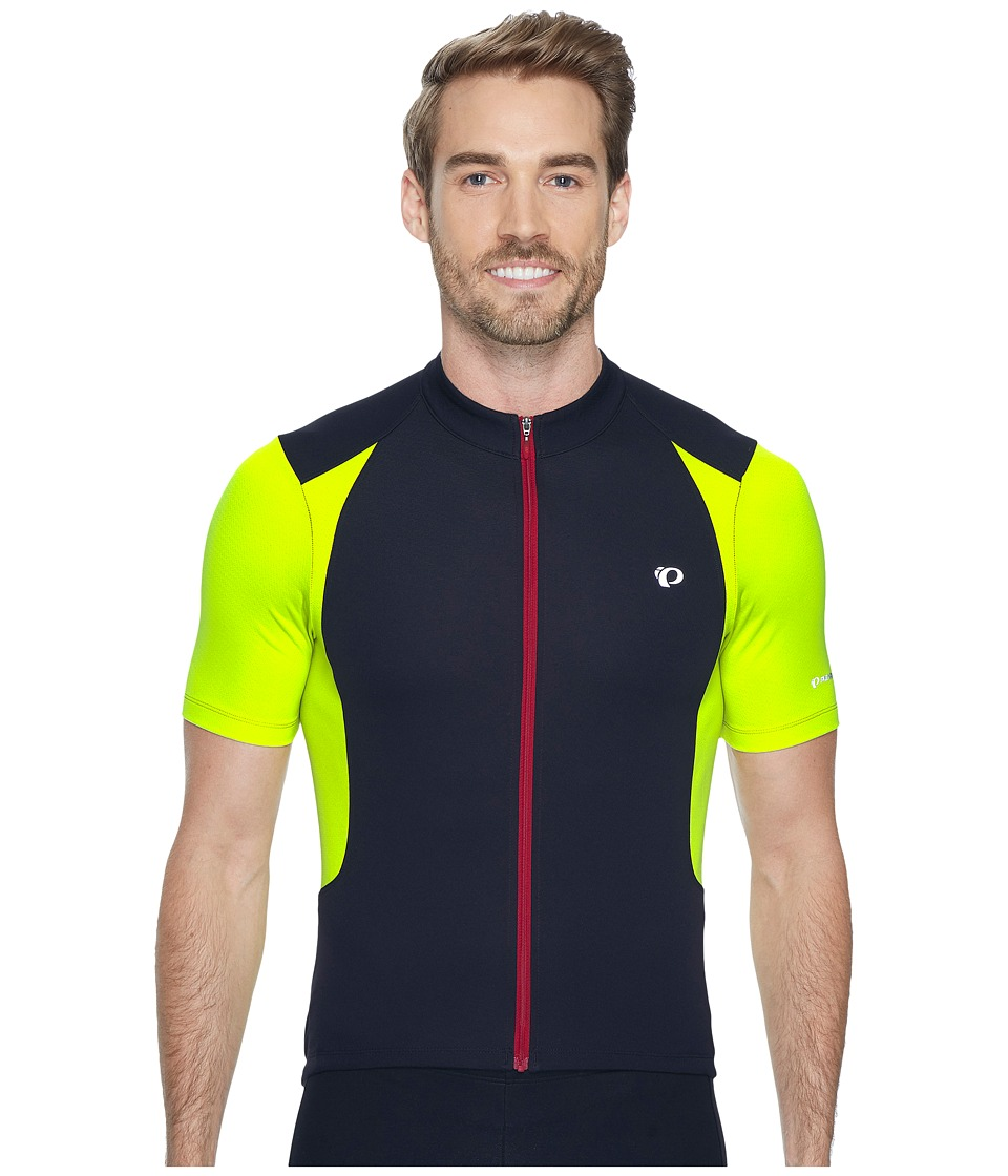 Pearl Izumi - Select Persuit Jersey (Black/Lime Punch) Men's Clothing