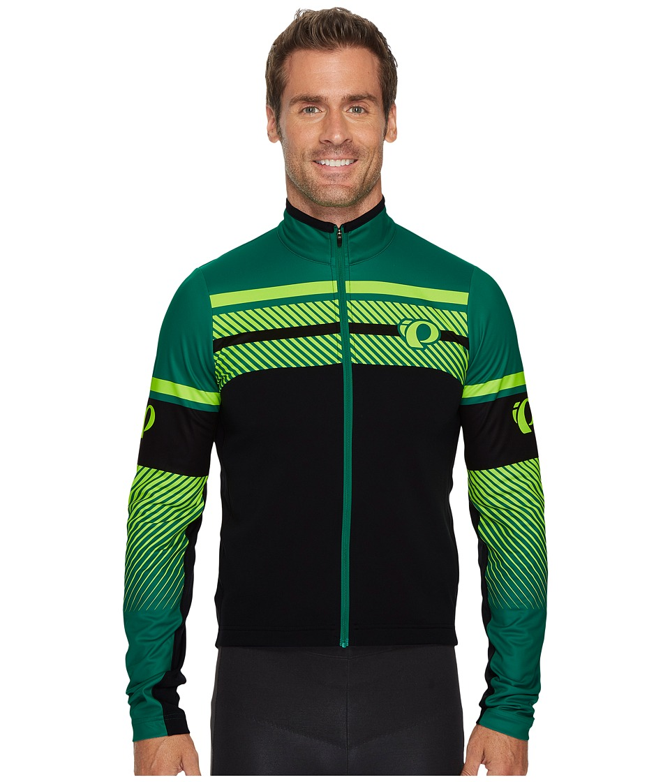 Pearl Izumi - Select Thermal Limited Jersey (Subline Pepper Green) Men's Clothing