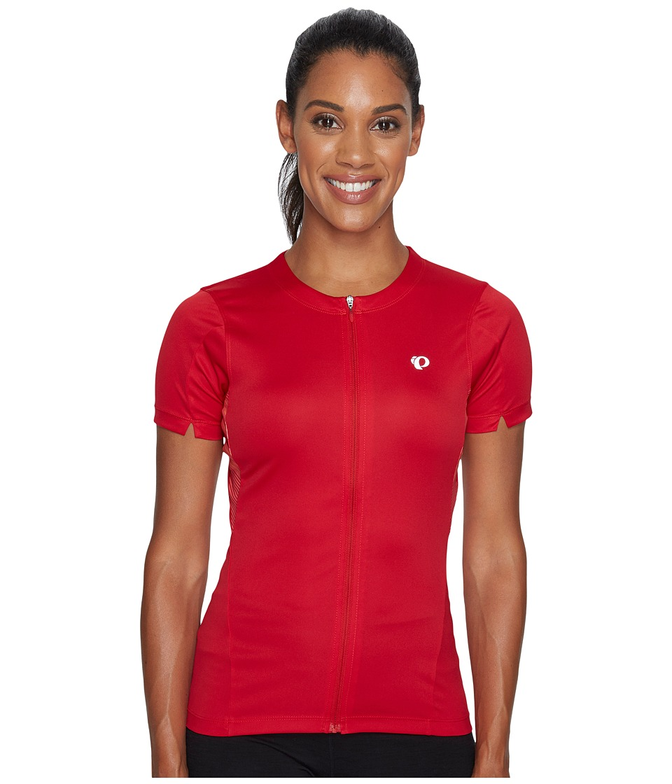 Pearl Izumi - Select Printed Jersey (Crimson Stripe) Women's Clothing