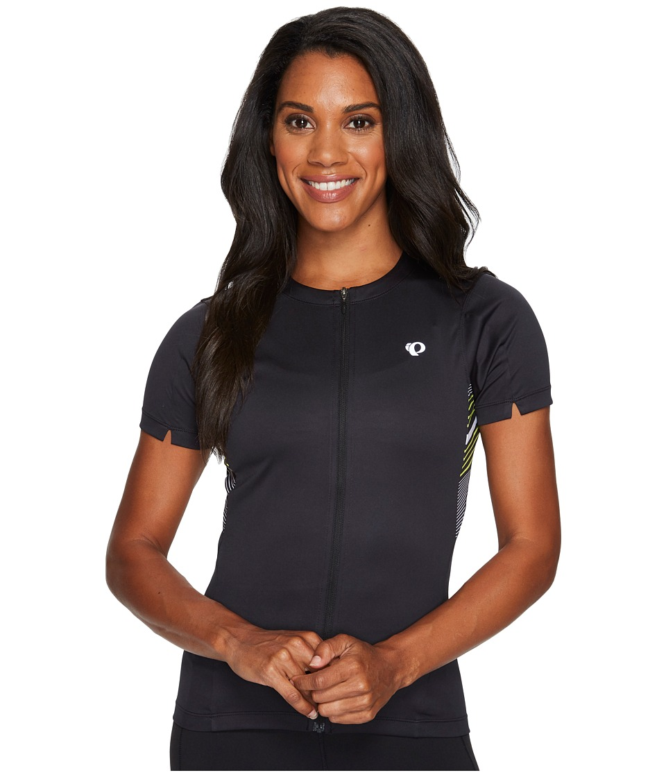 Pearl Izumi - Select Printed Jersey (Black Stripe) Women's Clothing