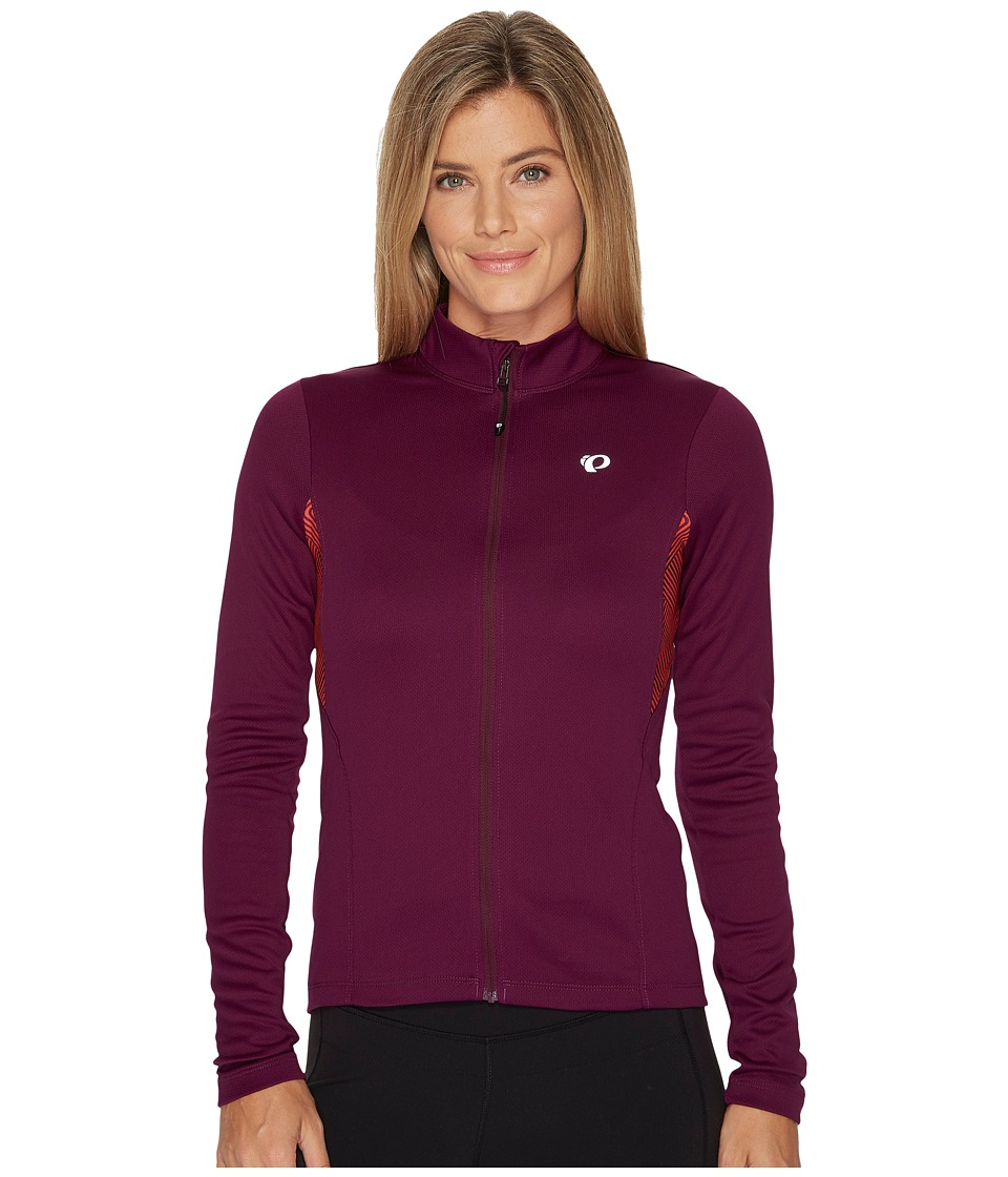 Pearl Izumi - Sugar Thermal Printed Jersey (Dark Purple) Women's Clothing