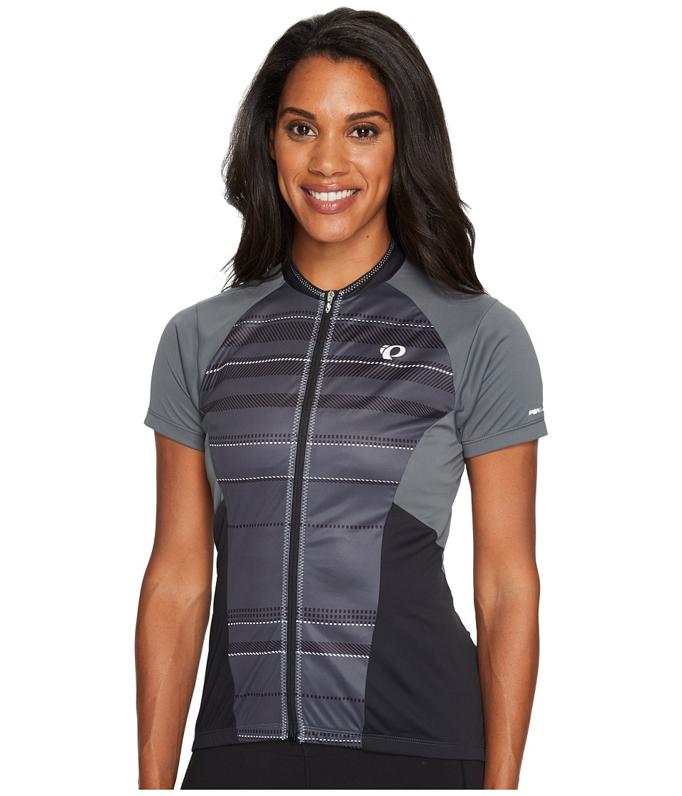 Pearl Izumi - Elite Escape Short Sleeve Jersey (Shadow Grey Strip) Women's Clothing
