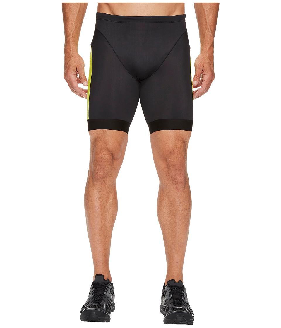 Pearl Izumi - Elite Pursuit Tri Shorts (Black/Lime Punch) Men's Shorts