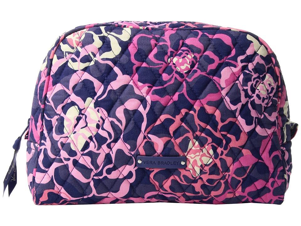 Vera Bradley - Large Zip Cosmetic (Katalina Pink) Cosmetic Case