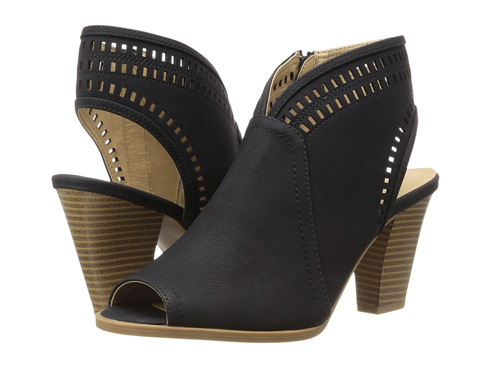 CL By Laundry - Rylie (Black Smooth Nubuck) High Heels