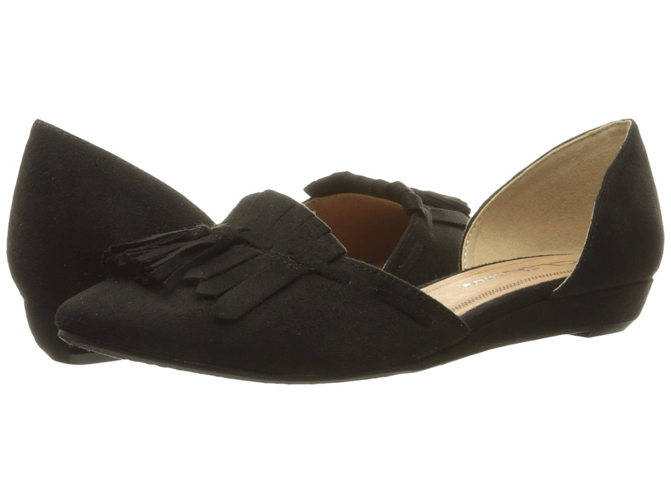 CL By Laundry Seline (Black Super Suede) Women