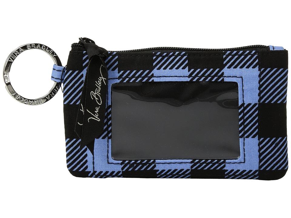 Vera Bradley - Zip ID Case (Alpine Check) Wallet