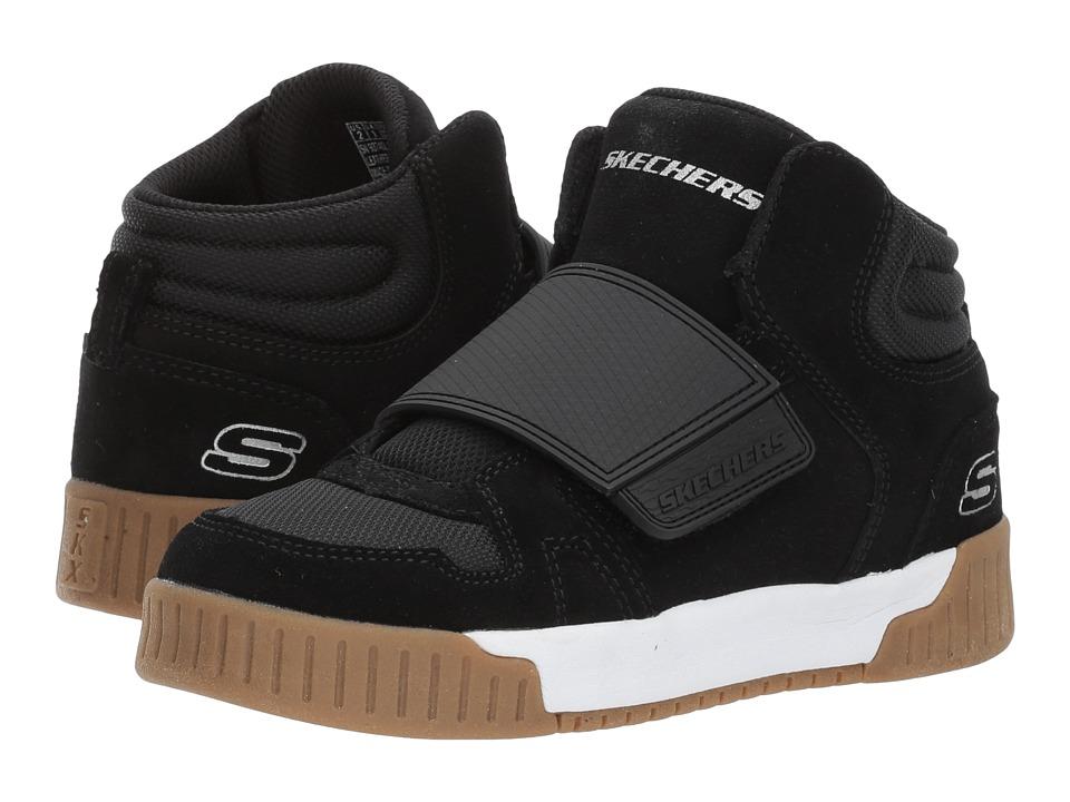 SKECHERS KIDS - Adapters-City Pulse 93740L (Little Kid/Big Kid) (Black) Boy's Shoes