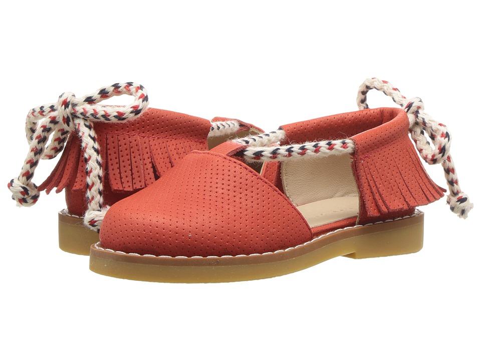 Elephantito Tori Sandal (Toddler/Little Kid/Big Kid) (Red) Girls Shoes