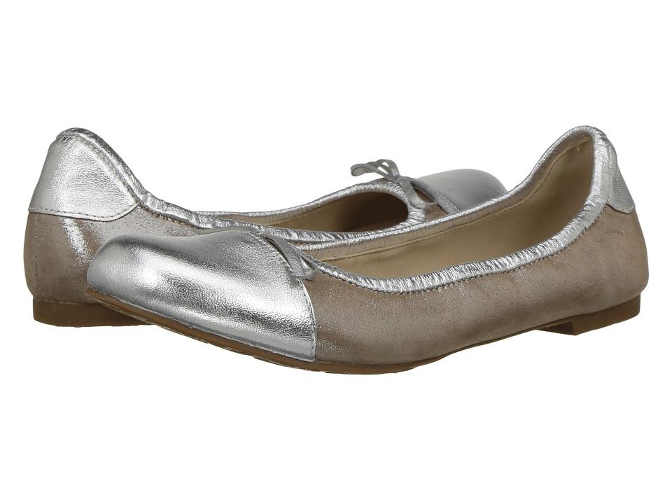 Elephantito Serena Flat (Toddler/Little Kid/Big Kid) (Metallic Blush) Girls Shoes