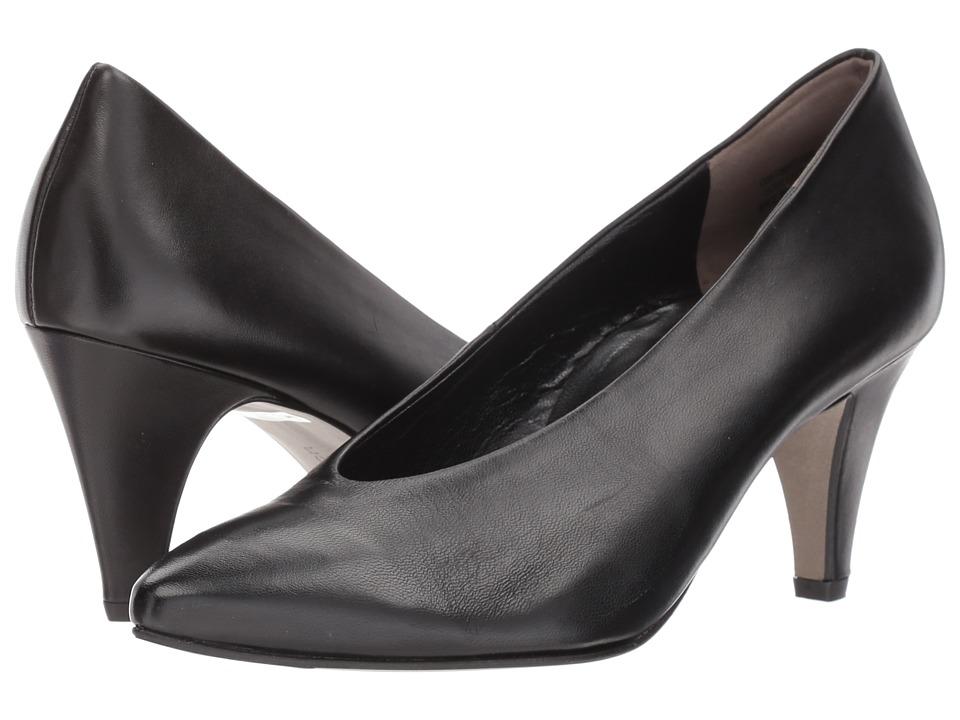 Paul Green Renata Pump (Black Leather) High Heels