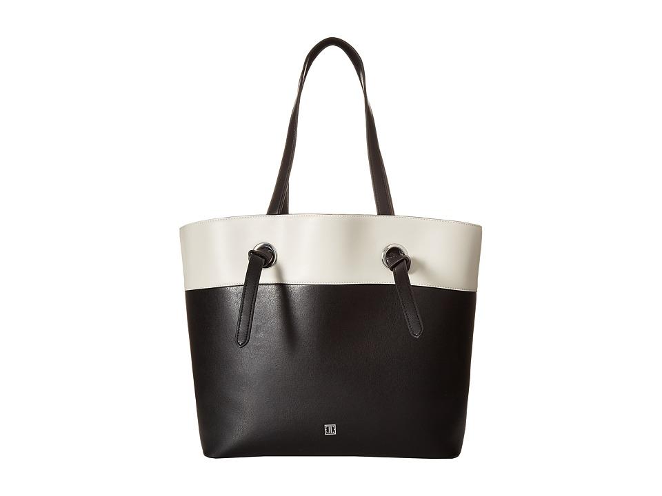 Ivanka Trump - Alexey Tote (Black/White Color Block 2) Tote Handbags
