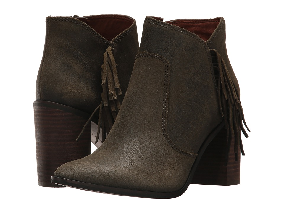 Lucky Brand - Mercerr (Dark Moss) Women's Shoes
