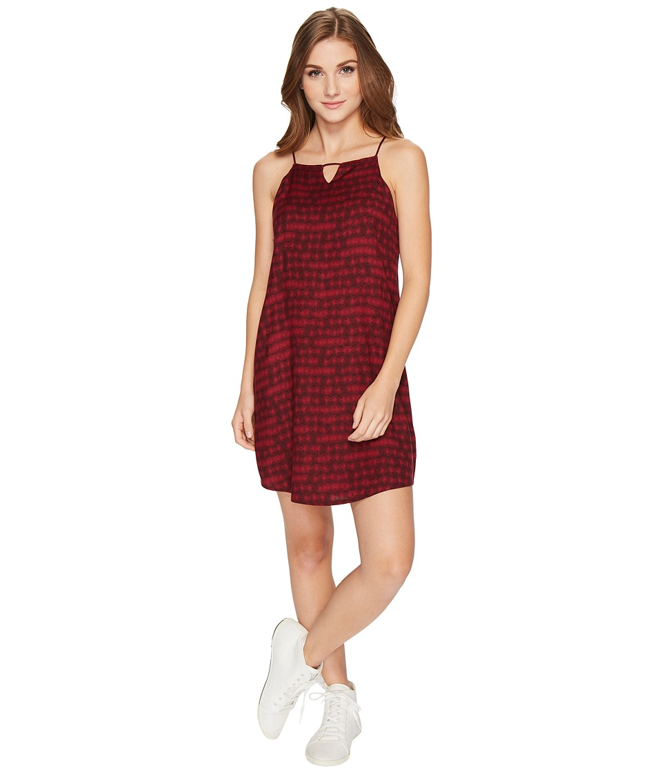RVCA Payback Dress (Winetasting) Women