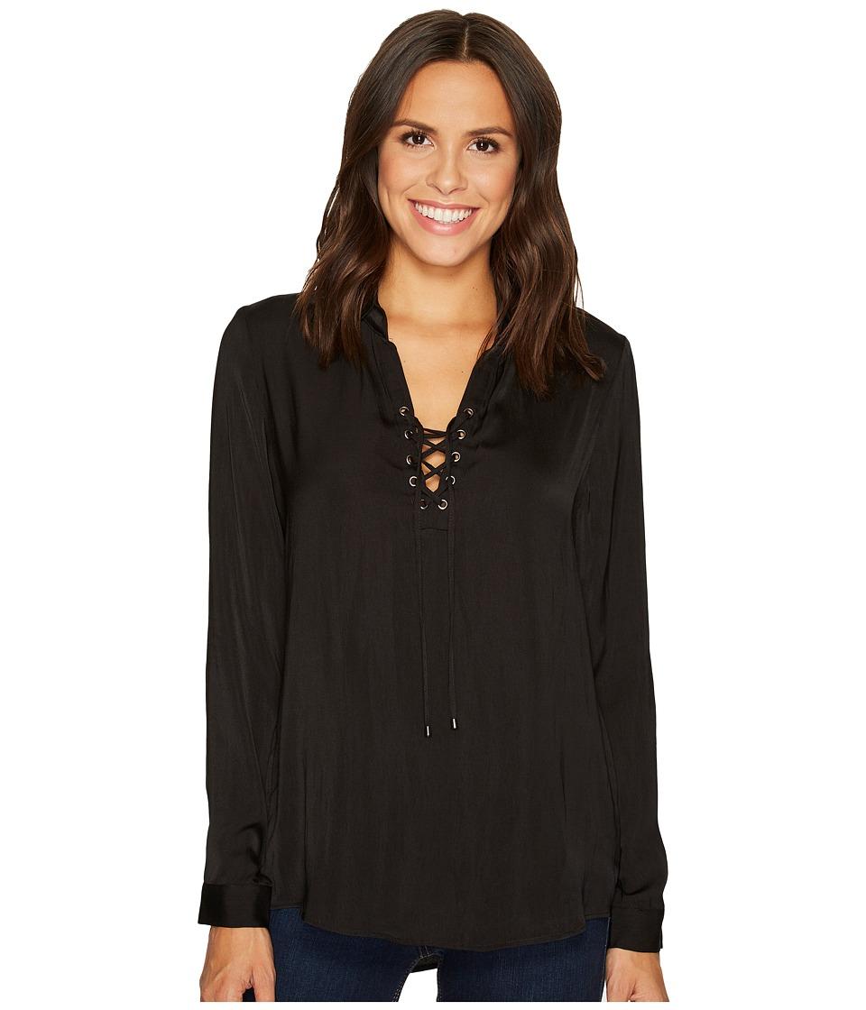 Tart - Georgia Top (Black) Women's Clothing