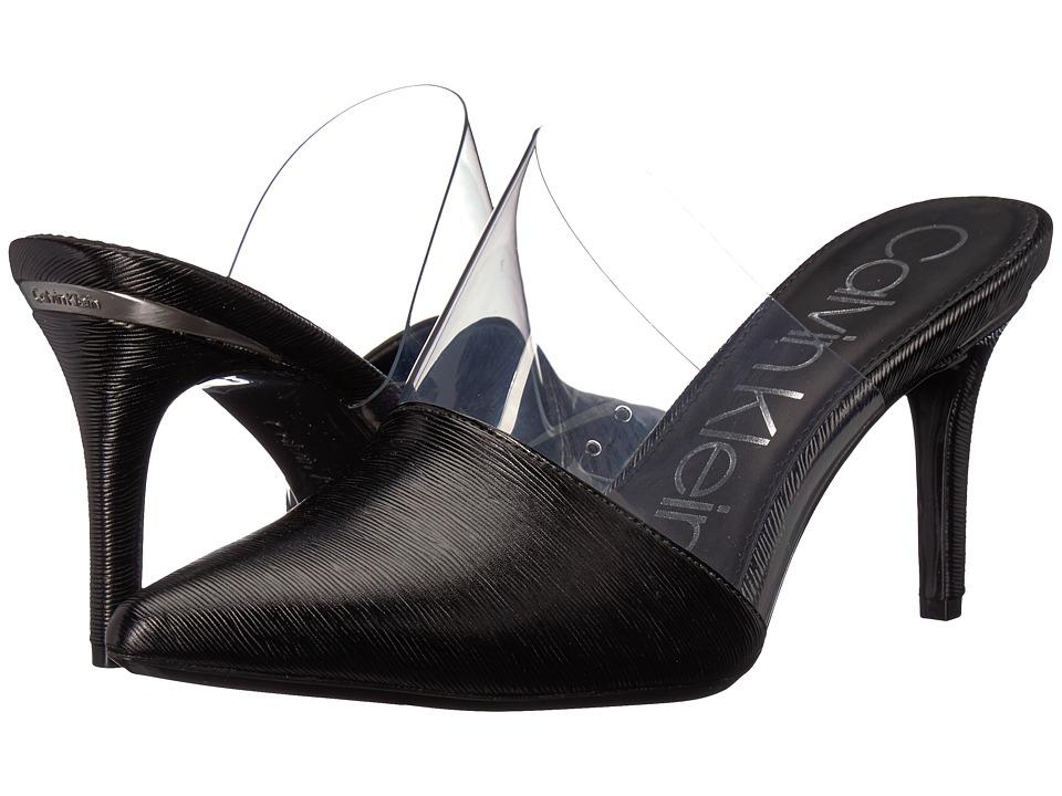 Calvin Klein Graycie (Black/Clear) High Heels