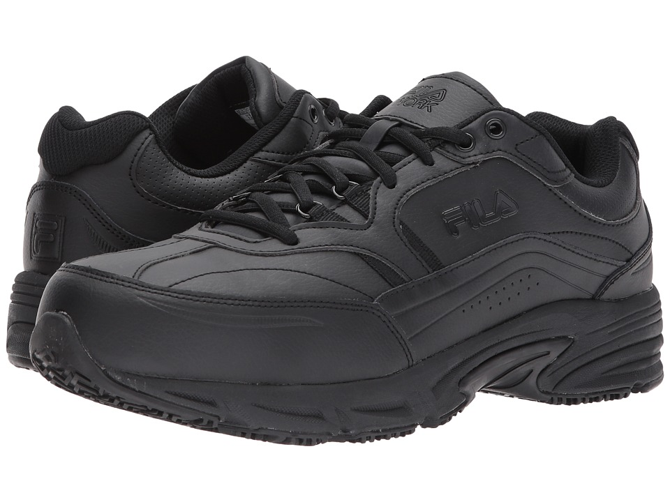 Fila - Memory Workshift SR ST (Black/Black/Black) Men's Shoes